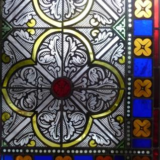 Pauline Le Goïc, Cage à mouches et feuilles d'Acanthe,Chantier de restauration