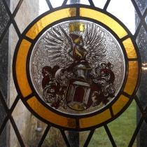 Pauline Le Goic, Armorique Vitrail, création/restauration avec insertion de pièce peinte